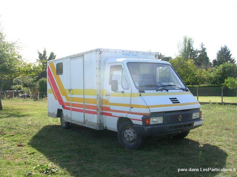 Renault master t35d quip transport 2 chevaux vehicules haute garonne - Covoiturage camion demenagement ...