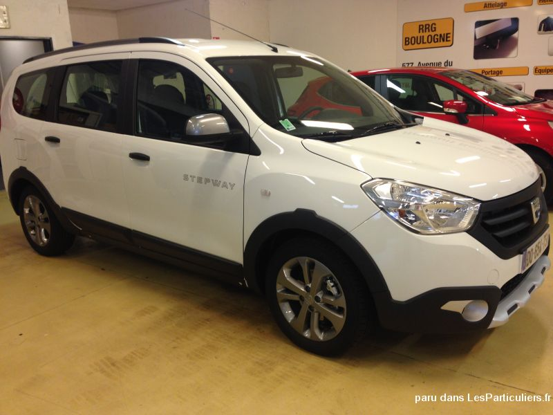 lodgy stepway  2018 7 places dci 110 garantie 5ans vehicules voitures seine-saint-denis