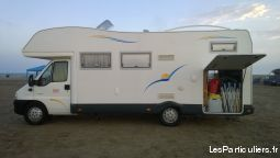 camping car citroen hdi. 26. 000 kms capucine 6 plac vehicules caravanes camping car oise