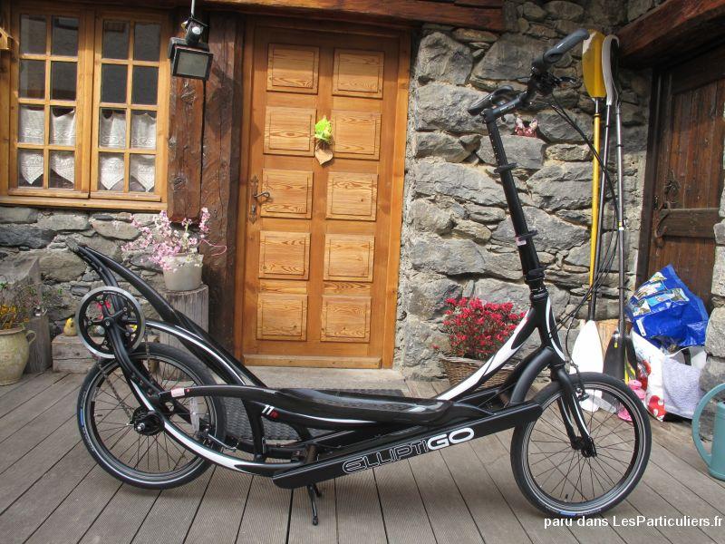 V lo elliptique d 39 ext rieur elliptigo vehicules velos savoie - Velo elliptique d exterieur ...