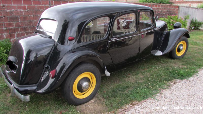vends citroen traction familiale 8 places vehicules oise. Black Bedroom Furniture Sets. Home Design Ideas