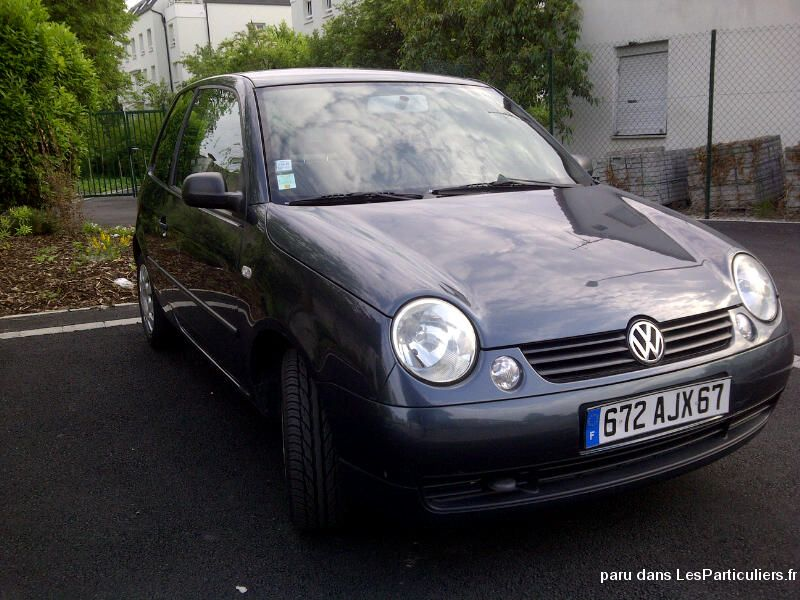 volkswagen lupo tr s bon tat vehicules bas rhin. Black Bedroom Furniture Sets. Home Design Ideas
