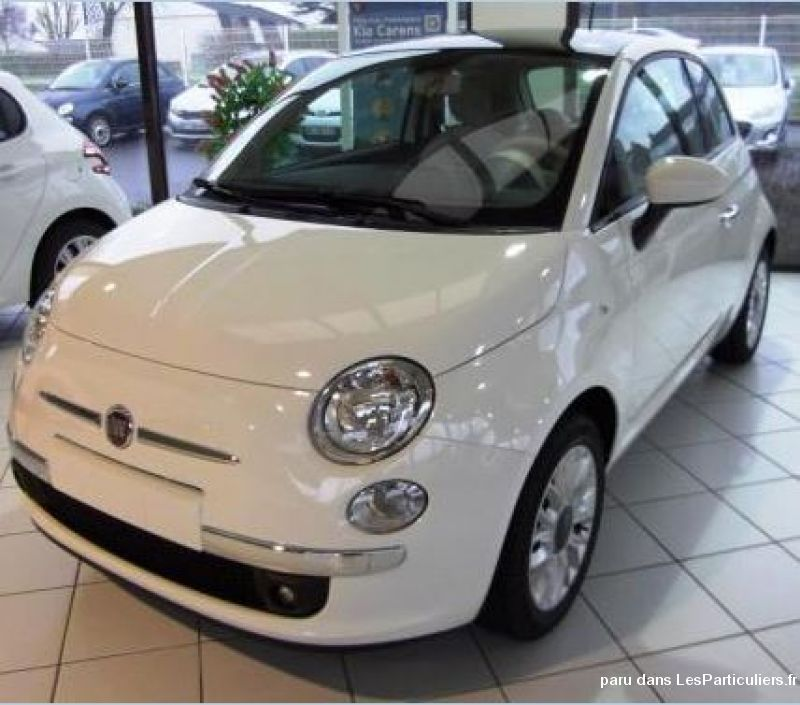 fiat 500 1. 2 8v 69 ch lounge vehicules voitures nord