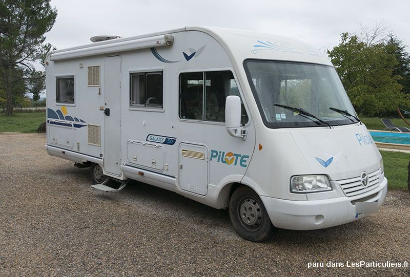 camping car int gral pilote galaxy 50 vehicules var. Black Bedroom Furniture Sets. Home Design Ideas