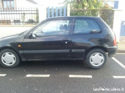 toyota starlet 1997 noir vehicules voitures val-d'oise