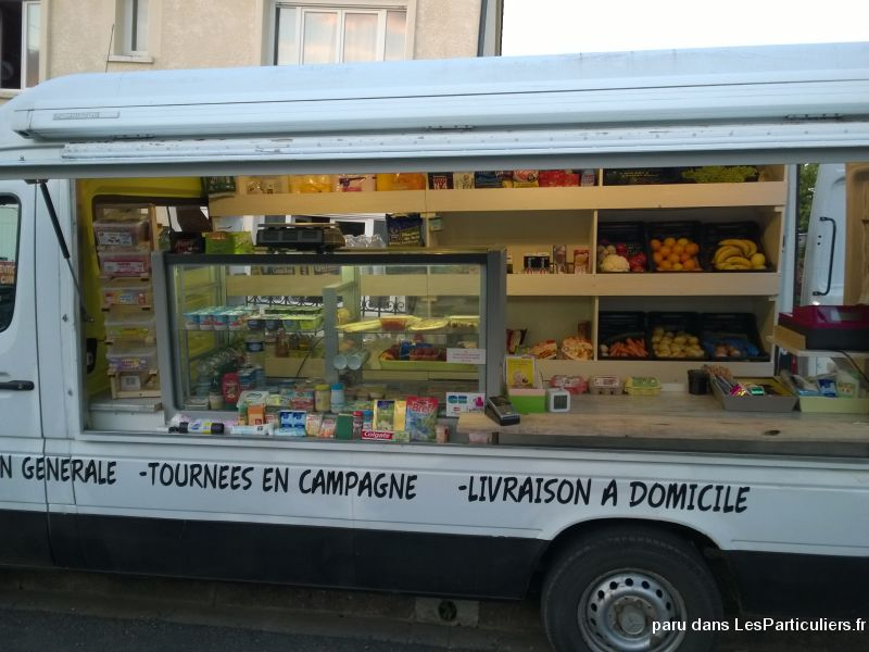 Camion magasin picerie ambulante vehicules dordogne - Covoiturage camion demenagement ...