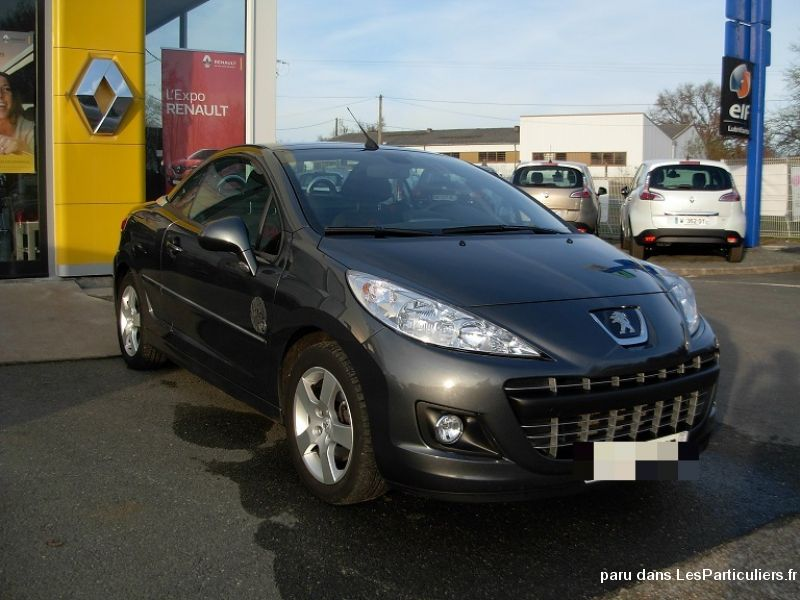 peugeot 207 cc serie 64 1l6 hdi 112cv vehicules voitures cher