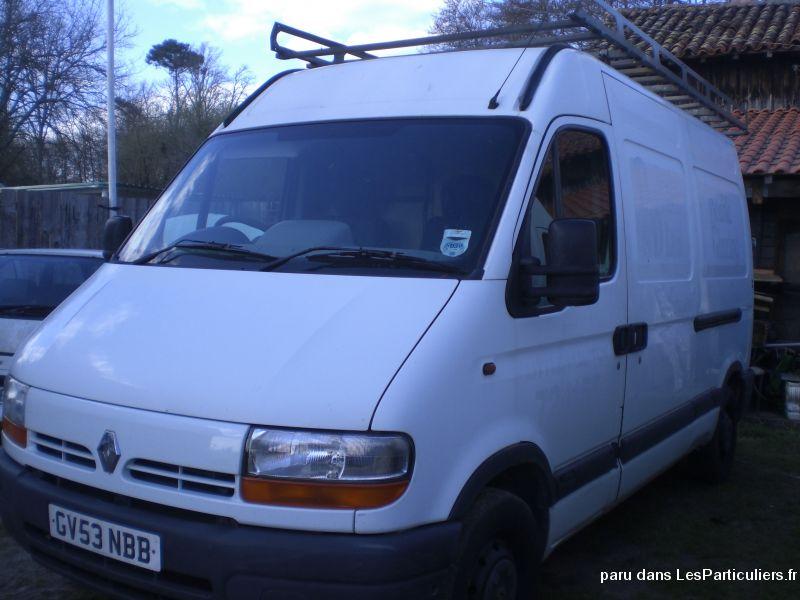 utilitaire renault master mm33 dci anne 2003 vehicules landes. Black Bedroom Furniture Sets. Home Design Ideas
