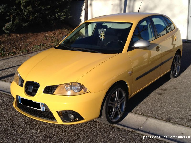 seat ibiza 1 9l tdi 130 fr 5 portes jaune vehicules var. Black Bedroom Furniture Sets. Home Design Ideas