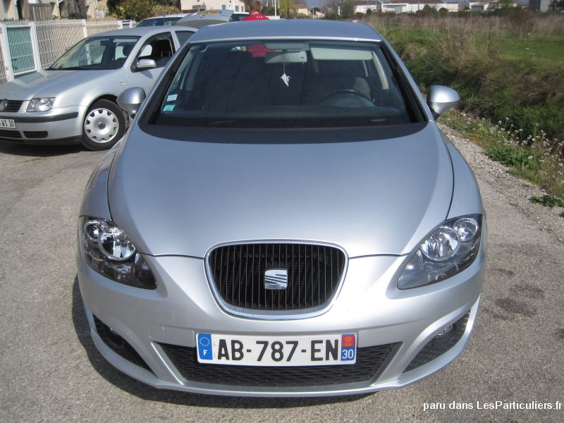 seat leon 1 9 tdi 105 ch style vehicules gard. Black Bedroom Furniture Sets. Home Design Ideas