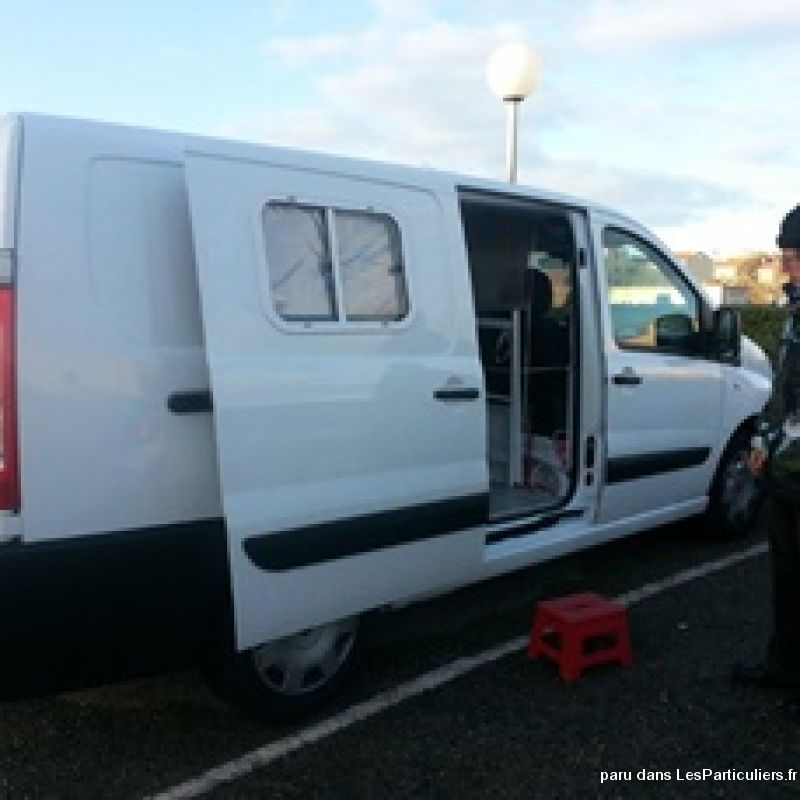 fiat scudo amenage camping car vehicules aude. Black Bedroom Furniture Sets. Home Design Ideas