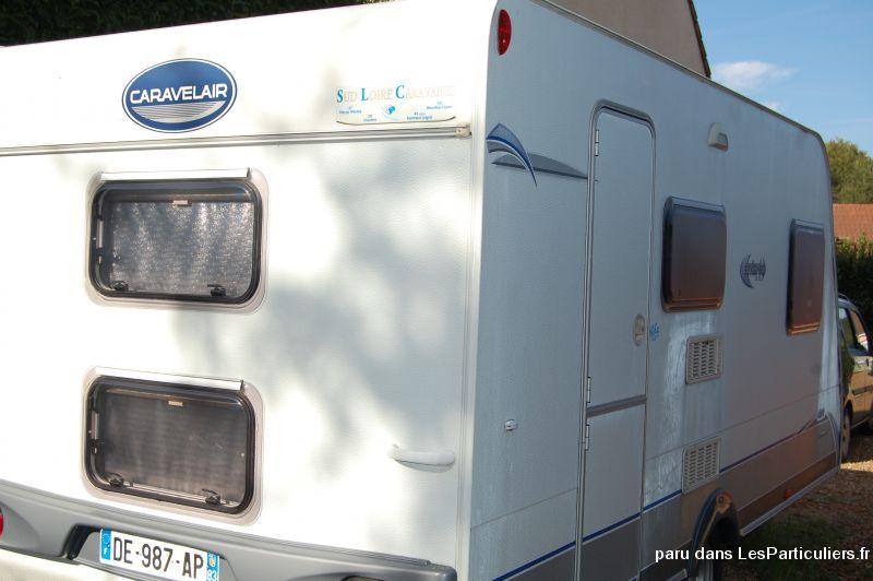 Caravane caravelair 426 ann e 2007 vehicules eure et loir for Caravane chambre