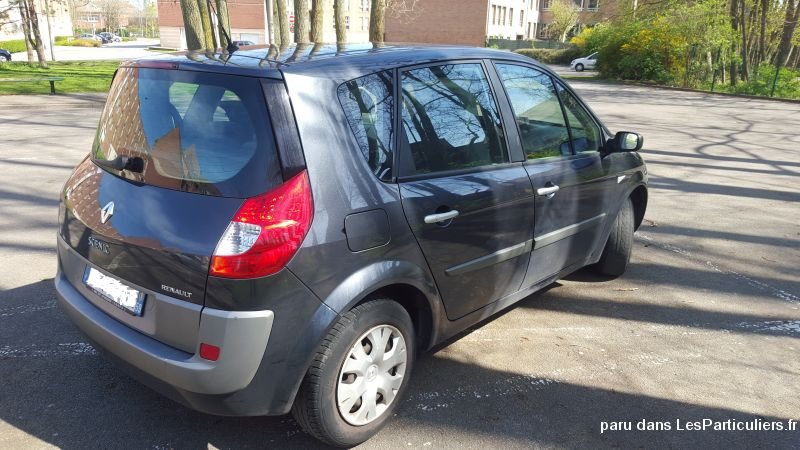 renault scenic vehicules voitures nord