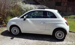 FIAT 500 1,2L START and LOUNGE 69 ch blanche