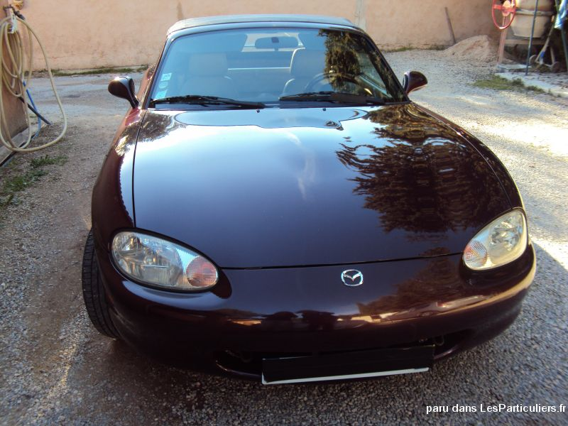 cabriolet mazda mx5 s�rie sp�ciale vehicules voitures var