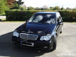 mercedes c200 cdi break bv6 noir m�t. model 2005 vehicules voitures mayenne