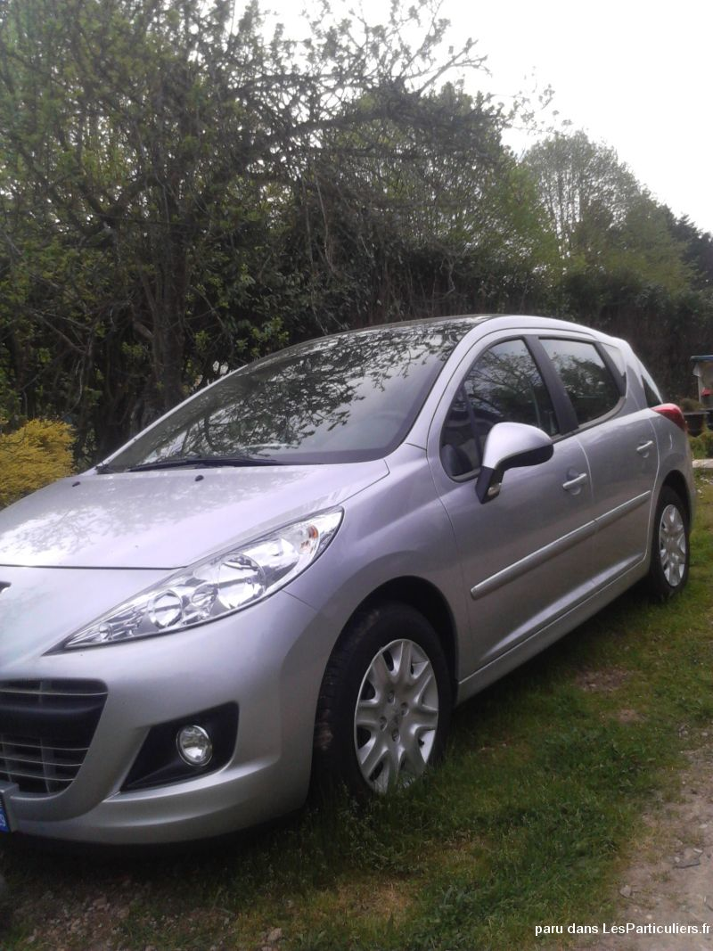 peugeot 207 break vehicules voitures allier