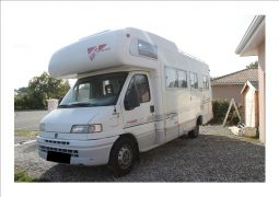 camping car fiat ducato 2,5 autostar athenor 505 vehicules caravanes camping car gironde