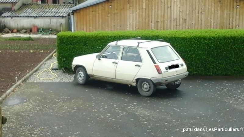 renault 5   vehicules voitures cantal