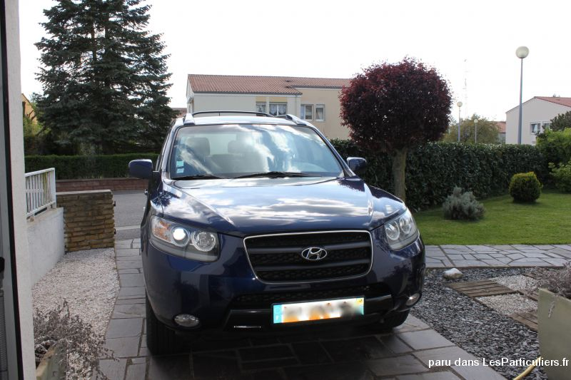4x4 hyundai santa fe vehicules voitures moselle