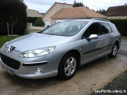 peugeot 407 sw hdi 110ch vehicules voitures haute-vienne