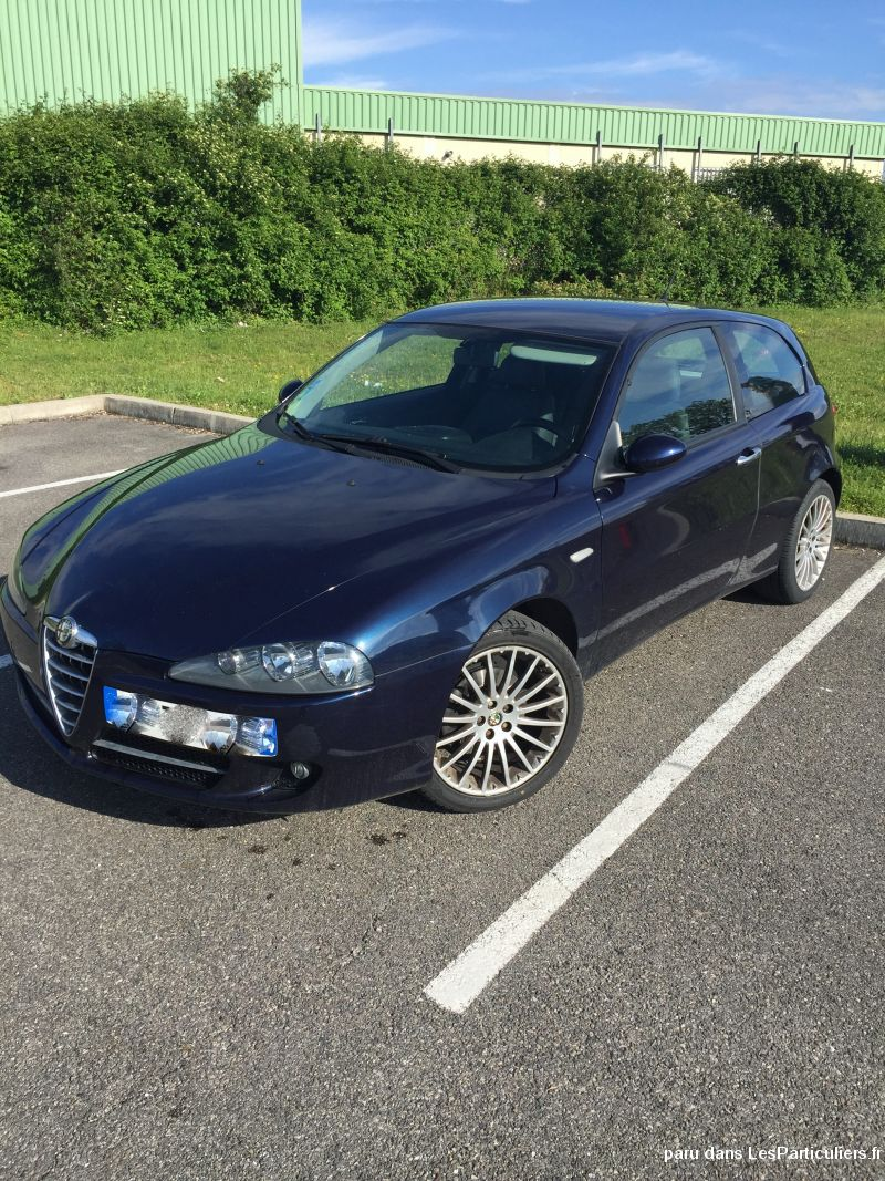 alfa rom�o 147 jtdm 120ch 2009 115000km vehicules voitures is�re