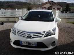 super occasion toyota avensis 34500 kms diesel vehicules voitures vosges