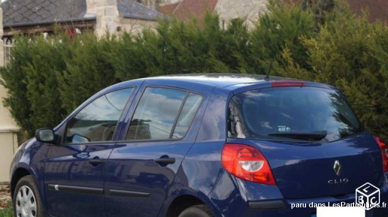 renault clio iii vehicules voitures oise