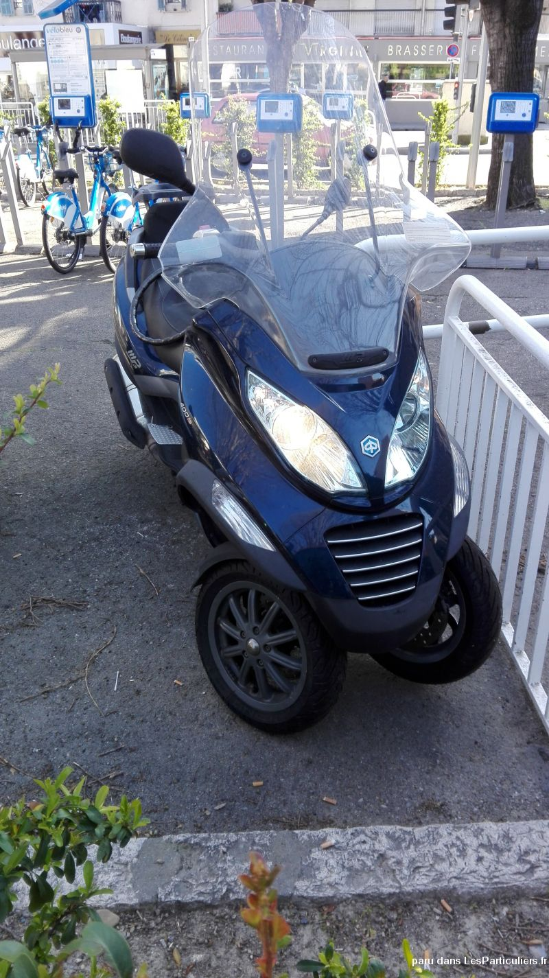 mp3 piaggio 400 vehicules scooters alpes-maritimes