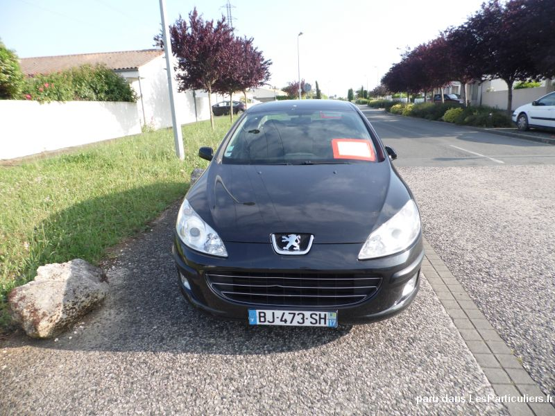peugeot 407 vehicules voitures charente-maritime
