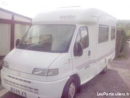 camping car rapido tbe vehicules caravanes camping car nord