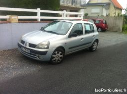 clio ii expression ann�e 2002; 176 000 km vehicules voitures manche