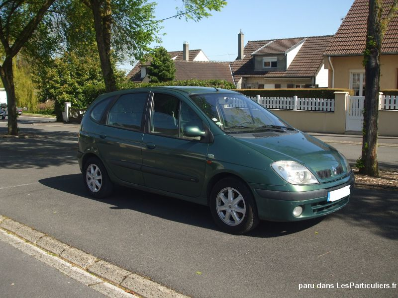 renault scenic ann� 2002 vehicules voitures aisne