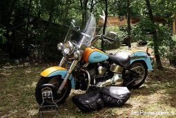 moto harley fat boy vehicules motos alpes-maritimes