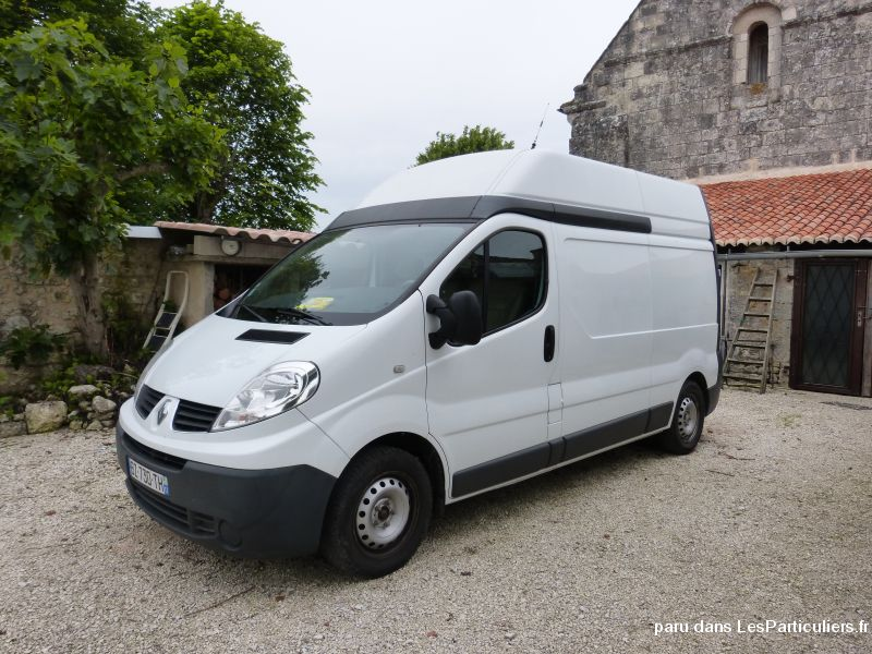 renault trafic 90 l2h2 quip camping car vehicules charente. Black Bedroom Furniture Sets. Home Design Ideas