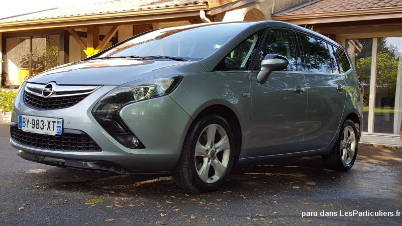 opel zafira tourer 7 pl cosmo pack 61000 km vehicules voitures gironde