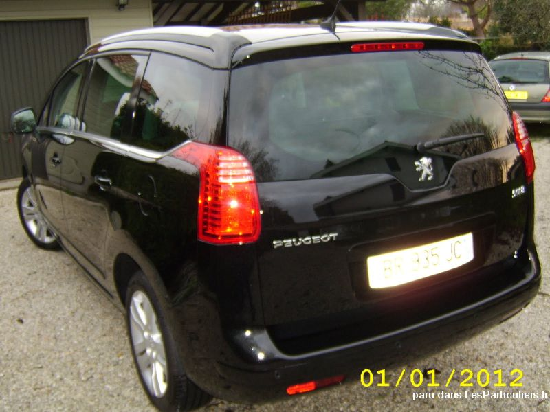 peugeot 5008 1.6 hdi modèle allure 7 places   vehicules voitures gironde