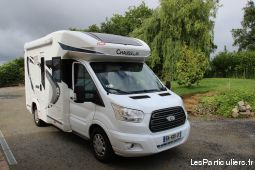 camping car chausson welcome 510 vehicules caravanes camping car ille-et-vilaine
