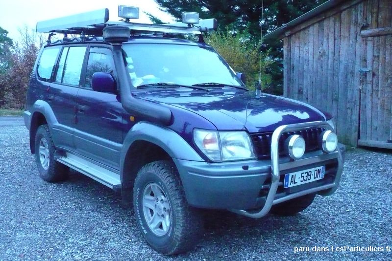 toyota land cruiser long vehicules voitures hautes-alpes