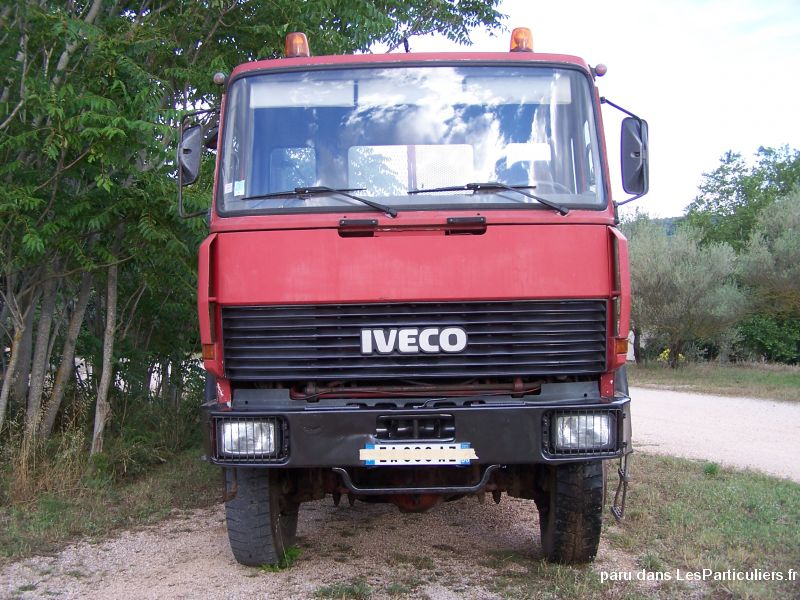 iveco 19 300 4x4 benne vehicules utilitaires var