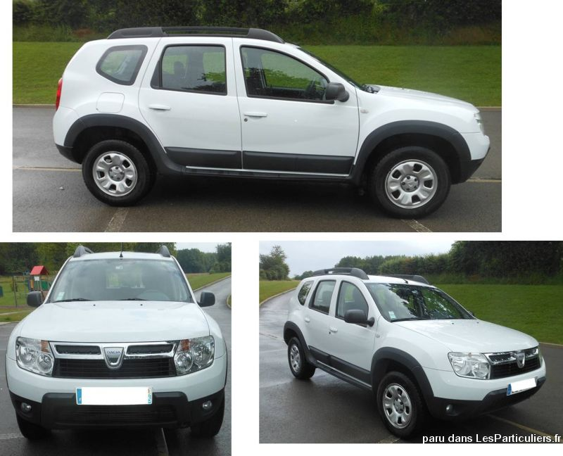 dacia duster 1. 5 dci 110 4x2 laur�ate (6 cv)  vehicules voitures doubs