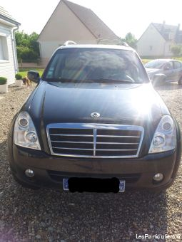 rexton xvt pack sport vehicules voitures somme