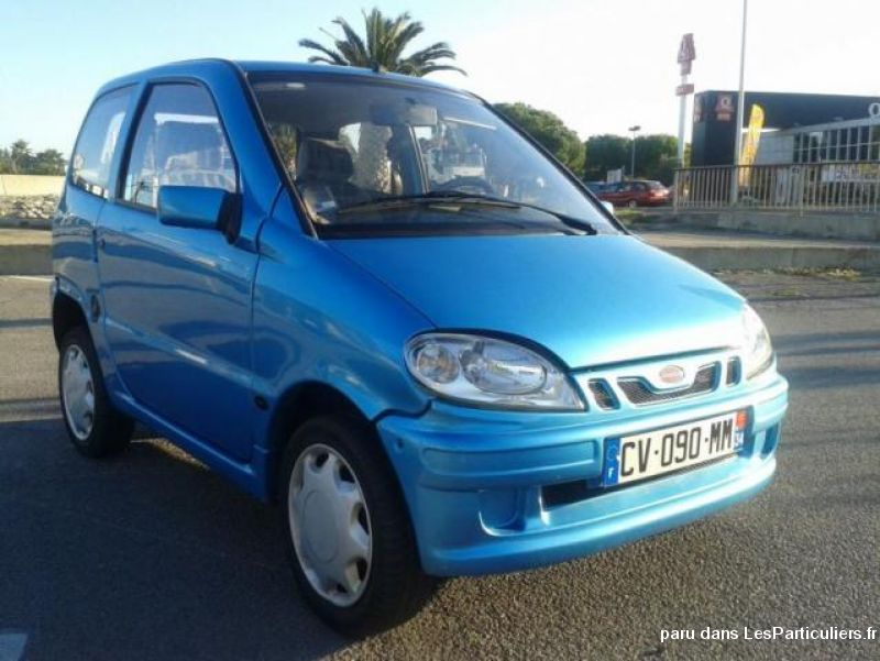 disponible microcar liberty luxe  2003 vehicules voitures hérault