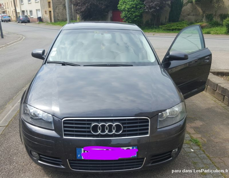 audi a3 2.0 fsi 150 chevaux  vehicules voitures moselle