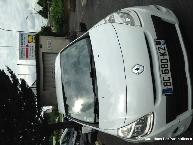 renault clio iii societe air 1.5 dci 75 eco 2 vehicules voitures val-d'oise