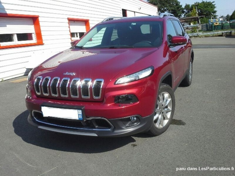 jeep cherokee iv 2.0 multijet 170cv ad1 limited vehicules voitures vendée