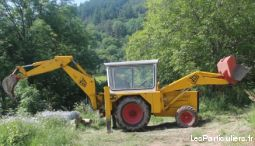 tractopelle  vehicules materiel agricole loire