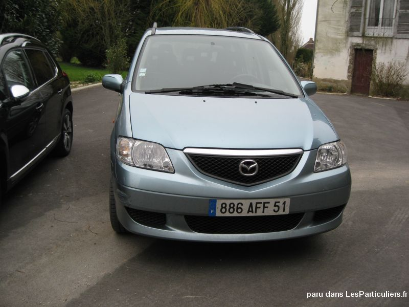 mazda mpv vehicules voitures marne