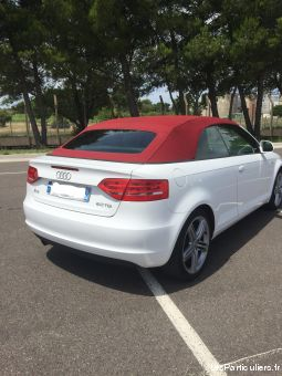 audi a3 cabriolet s-line 2l tdi 140 cv  vehicules voitures ard�che
