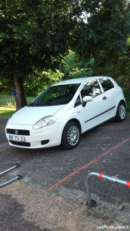 fiat punto grand d vehicules voitures allier